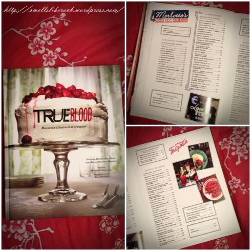 True blood recettes à boire et à croquer