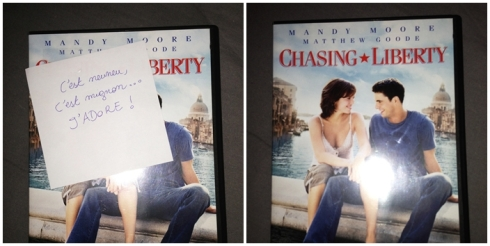 DVD Chasing liberty