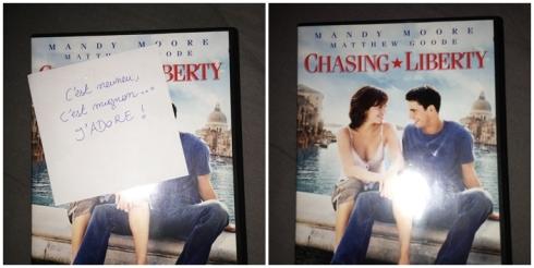 DVD Chasing liberty